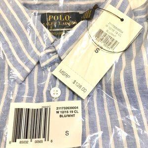NWT Ralph Lauren relaxed fit linen shirt